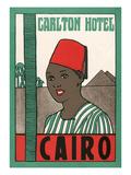 Hotel Carlton, Cairo, Egypt Poster