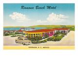 Ramona Beach Motel, Ensenada, Mexico Prints