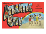 Greetings from Atlantic City, New Jersey Posters