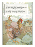 Mother Goose Rhyme, Pretty Little Hen Posters