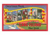 Greetings from Babylon, Long Island, New York Posters