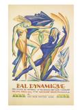 Invitation to Modern Dance Concert Prints