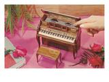 Music Box Shaped Like Piano Posters