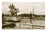 Place de La Concorde, Paris, France Prints
