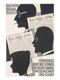 Poster for Swiss Newspaper Prints