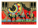 Christmas Greetings, Three Wise Men Posters