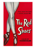 One-Sheet for the Red Shoes Prints