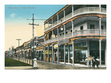 Front Street, Colon, Panama Prints