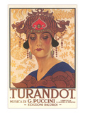 Art Deco Poster for Turandot Prints