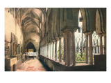 Cloister at Amalfi Cathedral, Italy Art