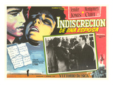 Mexican Advertisement for Film Noir Movie Prints