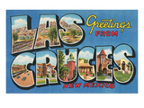 Greetings from Las Cruces, New Mexico Posters