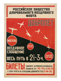 Russian Airshow Poster Prints
