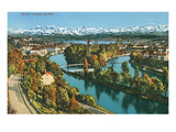 Zurich, Limmat and Sihl, Switzerland Posters