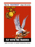Marine Corps Recruiting Poster Kunst