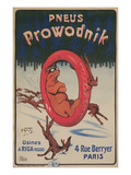 Ad for Prowodnik Tires Posters