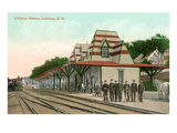 Littleton Railway Station, New Hampshire Prints