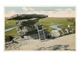 Umbrella Rock, Chattanooga, Tennessee Prints