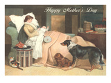 Happy Mother's Day, Nursing Mom Poster