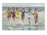 Bathing Beauties, North Fork, Long Island, New York Print