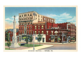 Nixon Hotel, Butler, Pennsylvania Posters