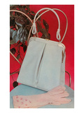 Purse and Pink Gloves Poster