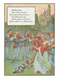 Mother Goose Rhyme, Old King Cole Prints