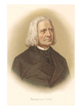 Portrait of Franz Liszt Photo