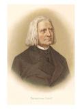 Portrait of Franz Liszt Art