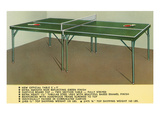 Ping-Pong Table Poster