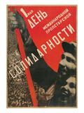 Soviet International Proletariat Solidarity Poster