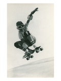Skateboarder Jumping Prints