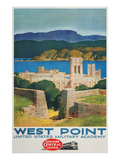 West Point United States Military Academy Railroad Poster Poster