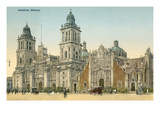 Mexico City Cathedral Prints