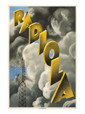 Radiola, Clouds and Tower Posters