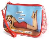 Anne Taintor - Rat's Ass Cosmetic Bag Taschen mit speziellen Motiven