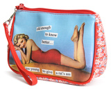Anne Taintor - Rat's Ass Cosmetic Bag Specialty Bags