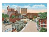 Downtown Greenville, South Carolina Print