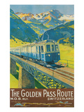 Travel Poster for Swiss Railway Poster