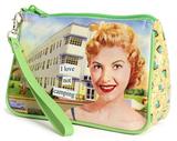 Anne Taintor - Camping Cosmetic Bag Taschen mit speziellen Motiven