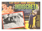 Spanish One-Sheet for Indiscreet Poster
