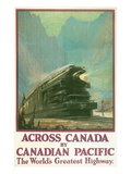 Travel Poster for Canadian Railways Prints
