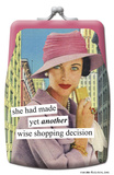 Anne Taintor - Decision Coin Purse Coin Purse