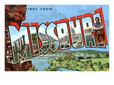 Greetings from Missouri Prints