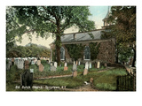 Old Dutch Church, Tarrytown, New York Prints