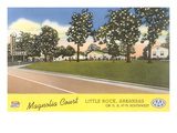 Magnolia Court, Little Rock, Arkansas Print