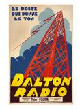 Style-Setting Dalton Radio Art