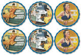 Anne Taintor - Cocktail Hour Coaster Set Coaster