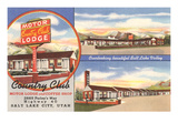 Country Club Motor Lodge, Salt Lake City, Utah Prints