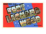 Greetings from Ft. Leonard Wood, Missouri Posters